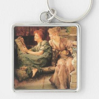 Comparisons by Lawrence Alma-Tadema Keychain