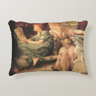 Comparisons by Lawrence Alma-Tadema Accent Pillow