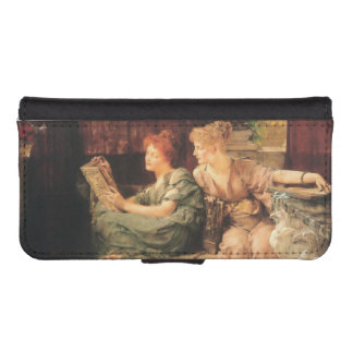 Comparisons by Lawrence Alma-Tadema Phone Wallet Cases