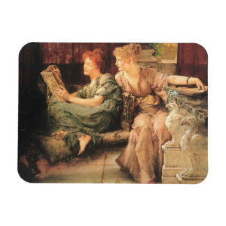 Comparisons by Lawrence Alma-Tadema Rectangular Magnets