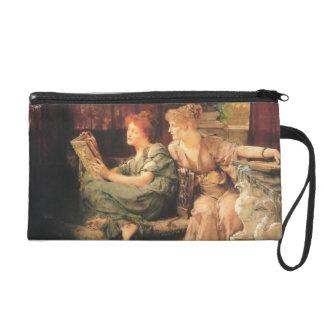 Comparisons by Lawrence Alma-Tadema Wristlet Purse