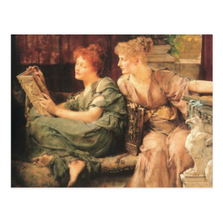 Comparisons in detail by Lawrence Alma-Tadema Post Card