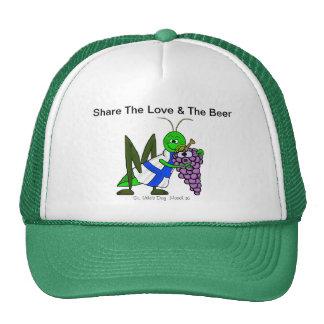 Comparta el amor y el casquillo o gorra del St. Ur