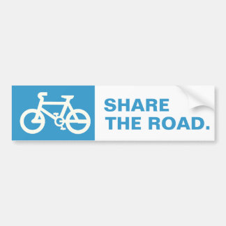 Comparta el camino con las pegatinas para el parac pegatina para auto