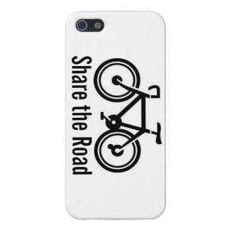 Comparta el ciclo del camino (horizontal) iPhone 5 carcasa