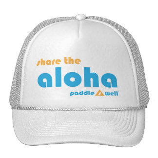 Comparta el gorra del camionero de la hawaiana