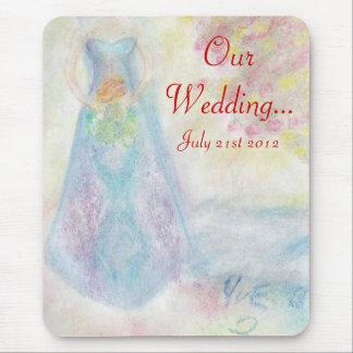 Comparta este boda especial del día tapete de ratones