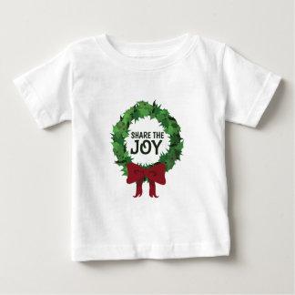 Comparta la alegría tee shirts