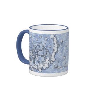 Comparta la magia del navidad taza