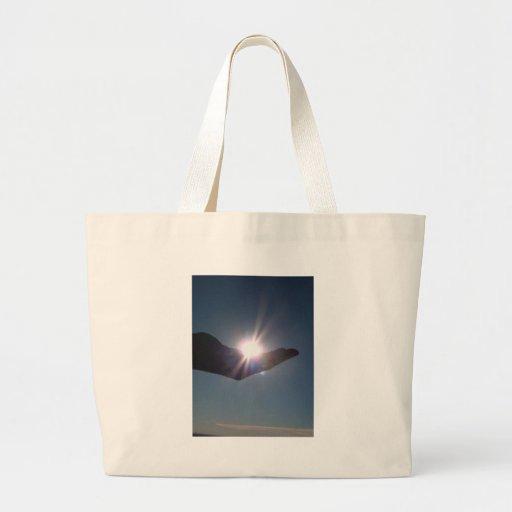 ¡Comparta la sol, la esperanza y la inspiración! Bolsas Lienzo