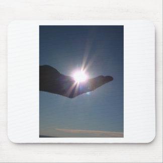 ¡Comparta la sol, la esperanza y la inspiración! Alfombrilla De Ratón