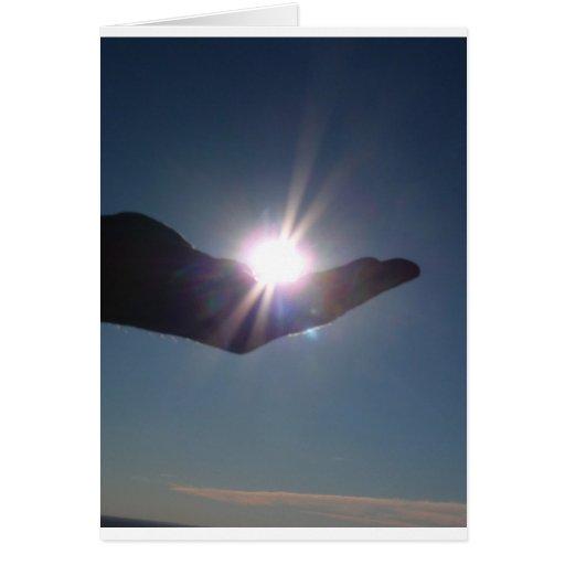 ¡Comparta la sol, la esperanza y la inspiración! Tarjeta