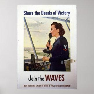 Comparta los hechos de la victoria póster