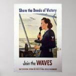 Comparta los hechos de la victoria posters