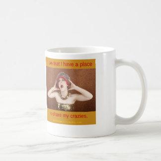 Comparta mi taza de Crazies