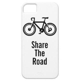 Comparta montar en bicicleta del camino iPhone 5 carcasa