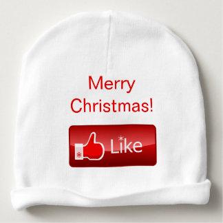 Comparta su alcohol de Navidad Gorrito Para Bebe
