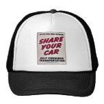 Comparta su coche gorras de camionero