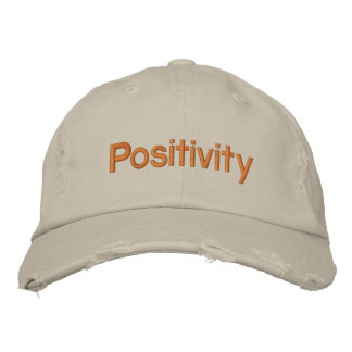 Comparta su positividad gorra de béisbol
