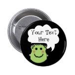 Comparta sus pensamientos: Frankenstein Pin