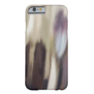 """""""Compartiendo"""" la pintura abstracta Funda Barely There iPhone 6"""