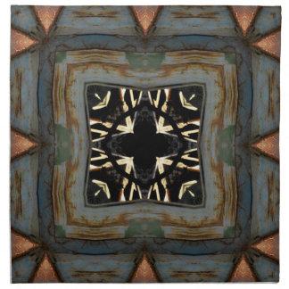 Compartimiento oxidado servilletas