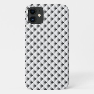 compartment design in Grey iPhone 11 Case