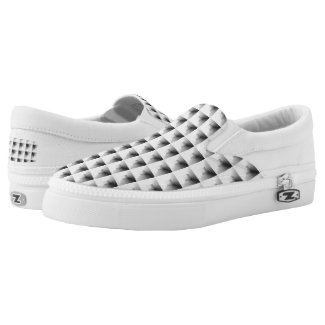 compartment design in Grey... Slip-On Sneakers