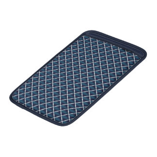 Compartment Design Rounded Blue MacBook Sleeve