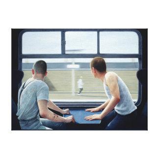 Compartments 2 1979 canvas print