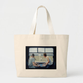 Compartments 2 1979 large tote bag
