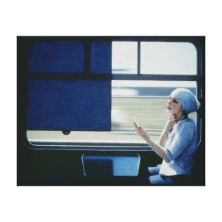 Compartments 3 1979 canvas print
