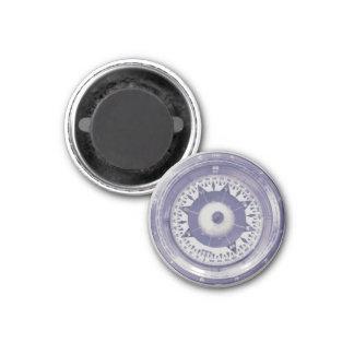 Compás de la navegación del vintage imán redondo 3 cm