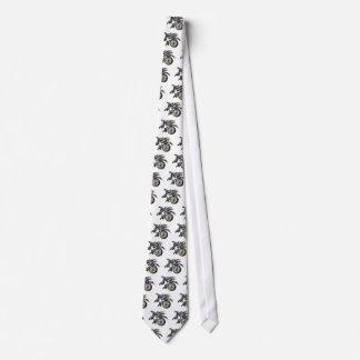 Compás de la orca corbata personalizada