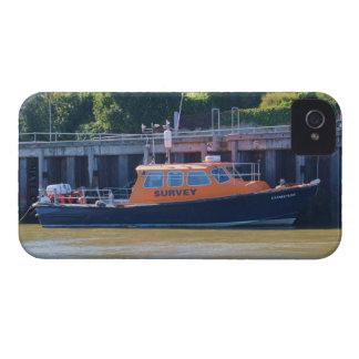 Compás del barco de la encuesta iPhone 4 Case-Mate protector