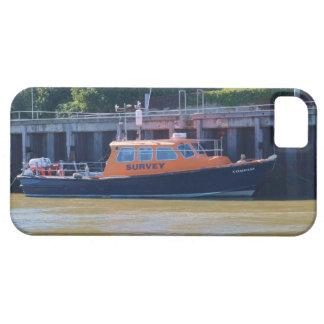 Compás del barco de la encuesta iPhone 5 carcasas