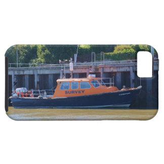 Compás del barco de la encuesta iPhone 5 fundas