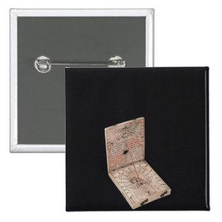 Compás del bolsillo, 1592 pin cuadrado