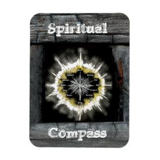 Compás espiritual imanes rectangulares