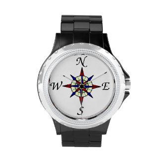 Compás náutico relojes
