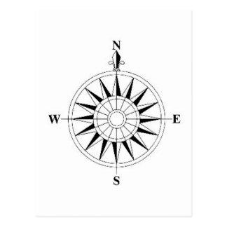 compas postcard