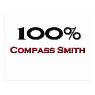 Compás Smith del 100 por ciento Tarjetas Postales