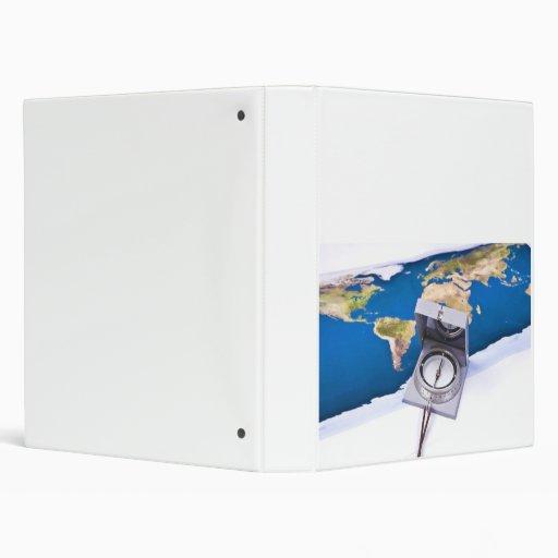 """Compás y mapa del mundo carpeta 1"""""""