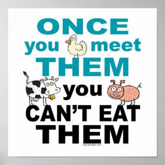 Compasión animal póster