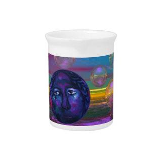 Compasión - conciencia de la violeta y del oro jarron