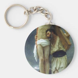 Compasión de William-Adolphe Bouguereau Llavero Redondo Tipo Pin
