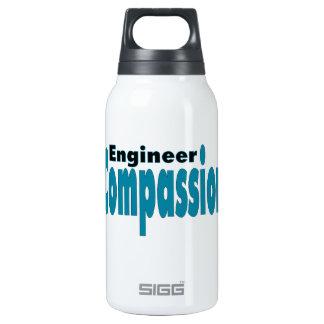 Compasión del ingeniero botella isotérmica de agua