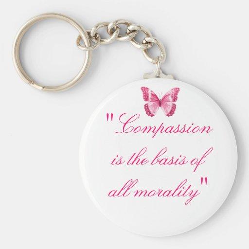 Compasión Llaveros Personalizados
