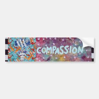 Compasión Pegatina Para Auto