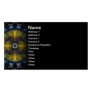 Compass Abstract Digital Fractal Double-Sided Standard Business Cards (Pack Of 100)